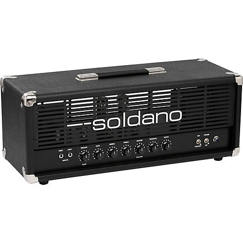 Soldano Avenger 50W Tube Guitar Amp Head Black