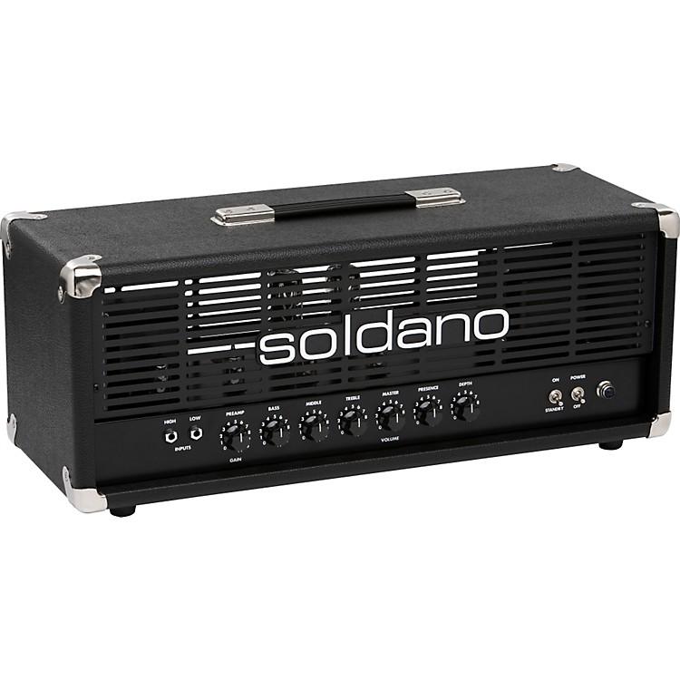 SoldanoAvenger 50W Tube Guitar Amp HeadBlack