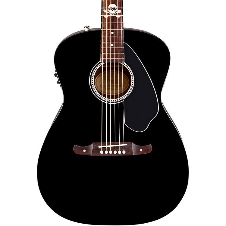 FenderAvril Lavigne Newporter Acoustic-Electric GuitarBlack
