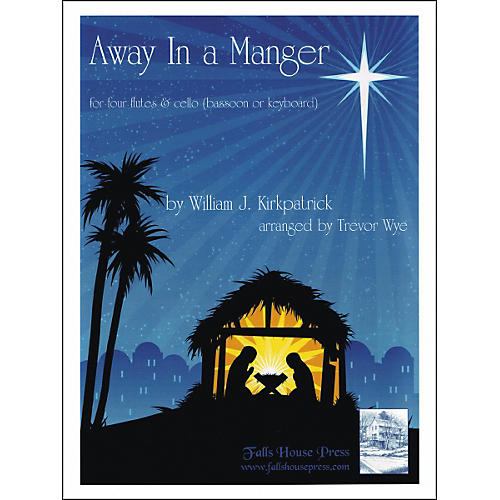 Carl Fischer Away In A Manger Book