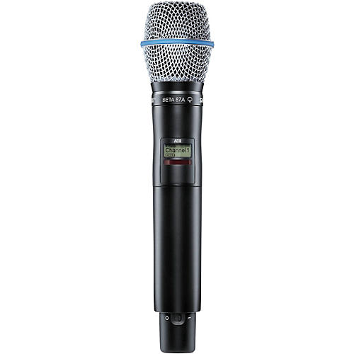 Shure Axient Digital AD2/B87A Handheld Wireless Transmitter with Beta87A Microphone-thumbnail