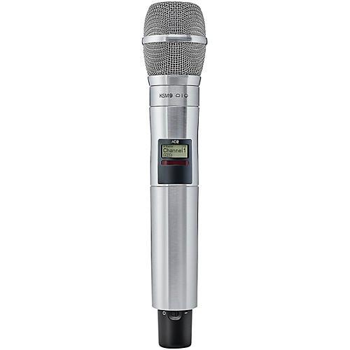 Shure Axient Digital  AD2/K9N Handheld Wireless Transmitter with Nickel KSM9 Microphone
