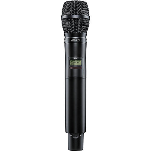 Shure Axient Digital AD2/VP68 Handheld Wireless Transmitter with VP68 Microphone-thumbnail
