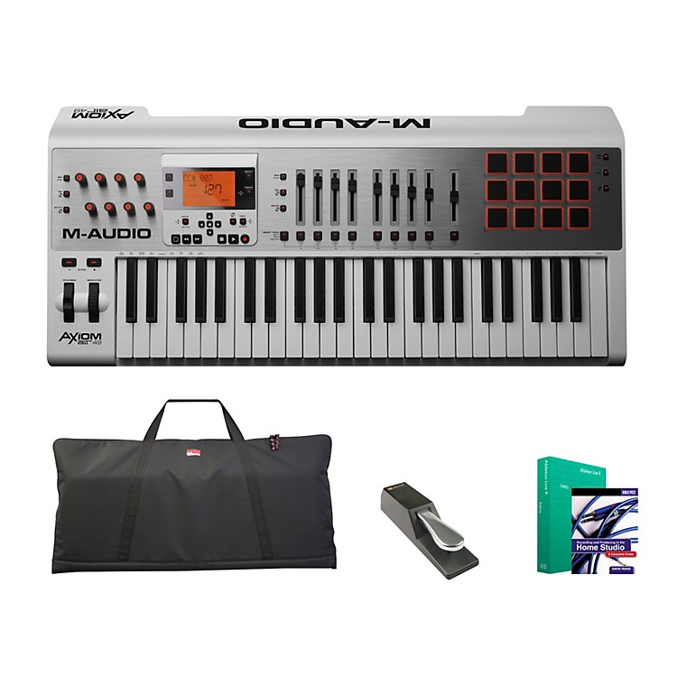 M-Audio Axiom AIR 49 Keyboard Controller Package 1