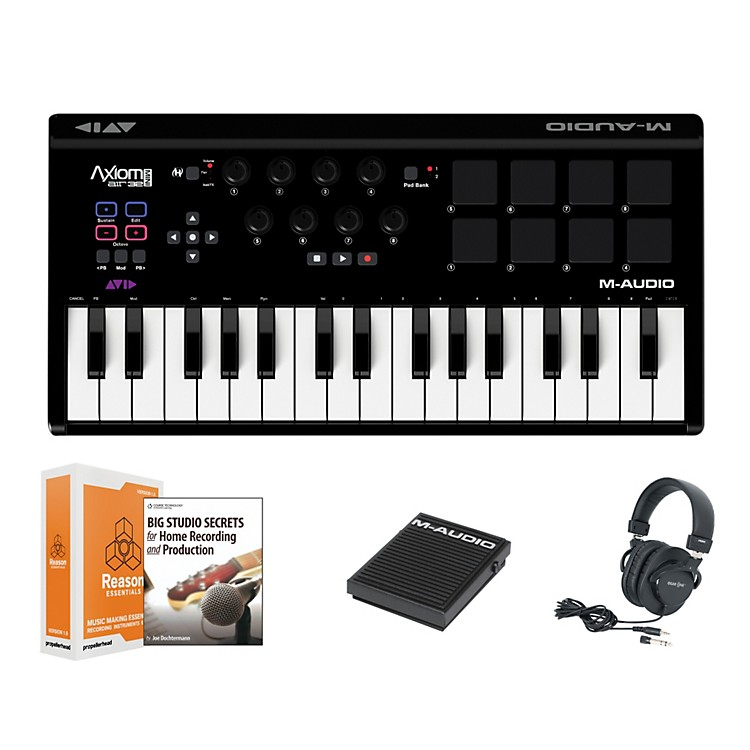 M-Audio Axiom AIR Mini 32 Keyboard Controller Package 1