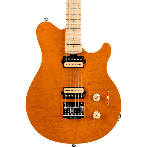 Ernie Ball Music Man Axis SuperSport HH Electric Guitar Translucent Gold Maple Fretboard