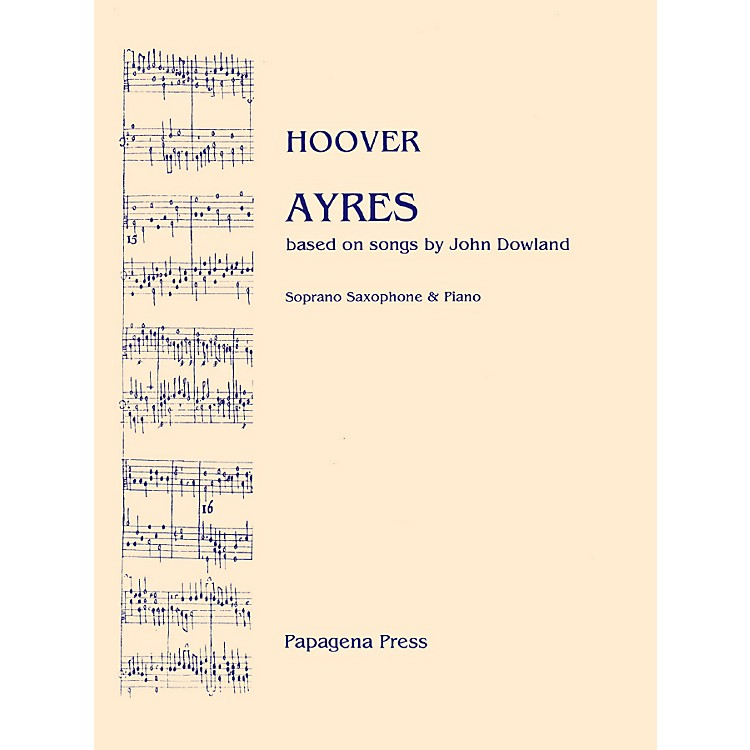 Carl FischerAyres (for Soprano Saxophone and Piano)