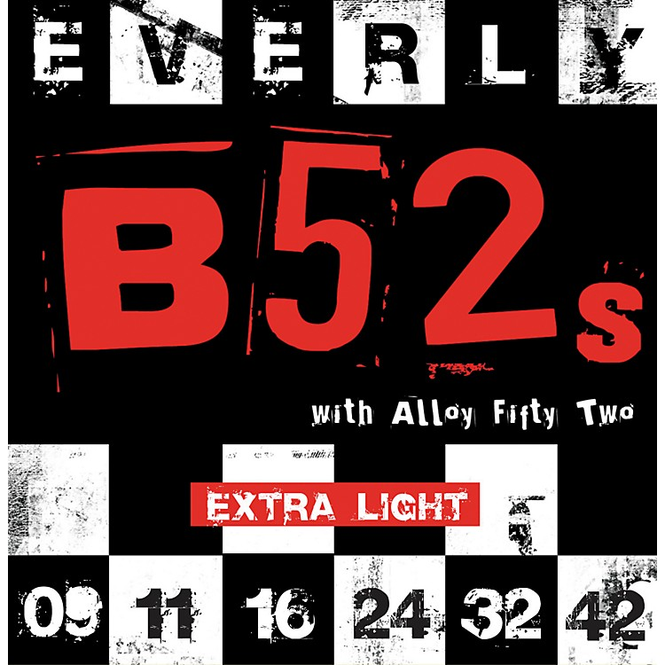 Everly B-52 Rockers Alloy Extra Light Electric Guitar Strings