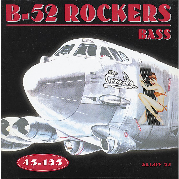 Everly B-52 Rockers Alloy Medium 5-String Electric Bass Strings