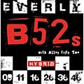 Everly B-52 Rockers Alloy Medium Hybrid Electric Guitar Strings