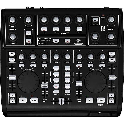 Behringer B-Control DeeJay BCD3000 DJ Mixer-thumbnail