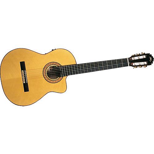 Manuel Rodriguez B Cutaway Cedar Top Classical Acoustic-Electric Guitar