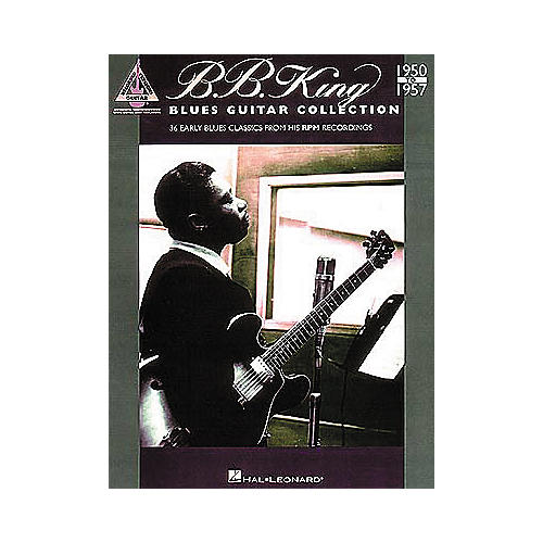 Hal Leonard B.B. King - Blues Guitar Collection 1950-1957 Book
