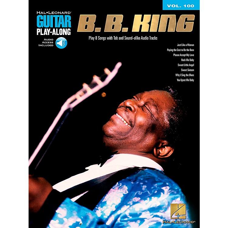 Hal LeonardB.B. King - Guitar Play-Along Volume 100 (Book/CD)