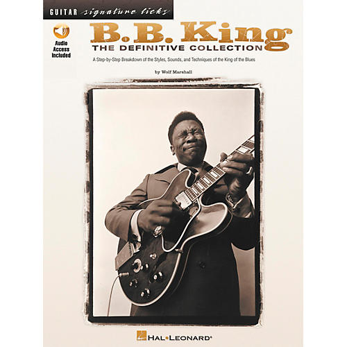 Hal Leonard B.B. King - The Definitive Collection Book with CD