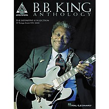 Hal Leonard B.B. King Anthology Guitar Tab Book