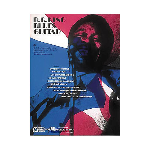 Edward B. Marks Music Company B.B. King Blues Guitar Book