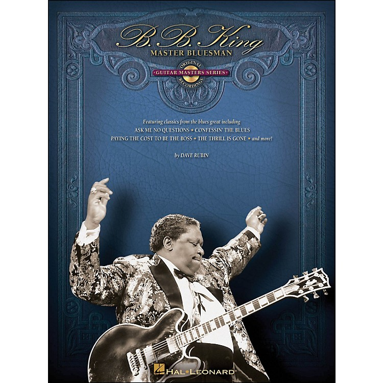 Hal LeonardB.B. King Master Bluesman - Deluxe Edition Book & CD