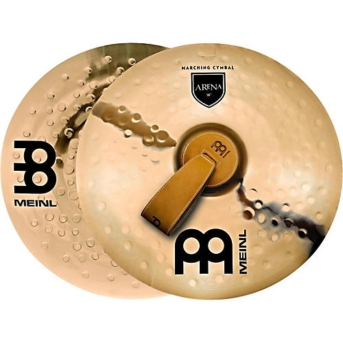 Meinl B10 Marching Arena Hand Cymbal Pair-thumbnail