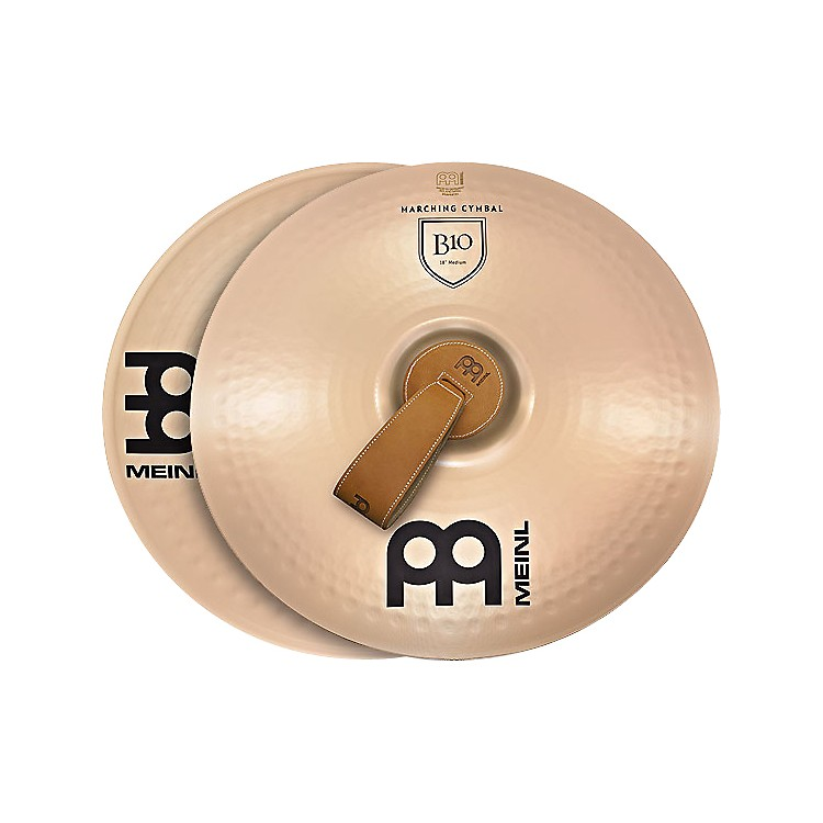 Meinl B10 Marching Medium Cymbal Pair 16 inch