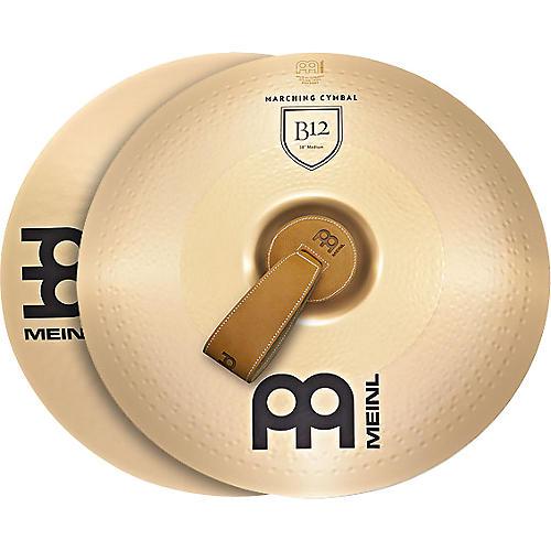 Meinl B12 Marching Medium Cymbal Pair