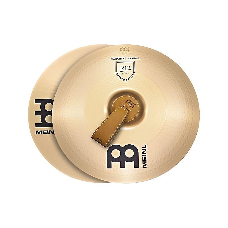MeinlB12 Marching Medium Cymbal Pair20 inch