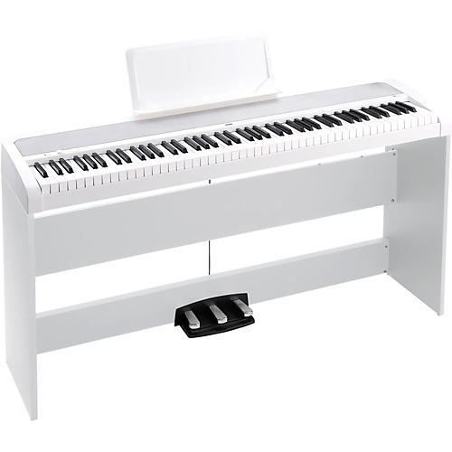 korg b1sp 88 keys digital piano with stand and 3 pedal unit musician 39 s friend. Black Bedroom Furniture Sets. Home Design Ideas