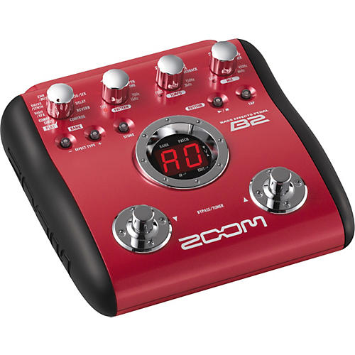 Zoom B2 Bass Multi-Effects Pedal