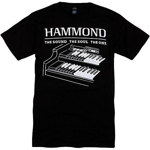 Hammond B3 T-Shirt XX Large Black
