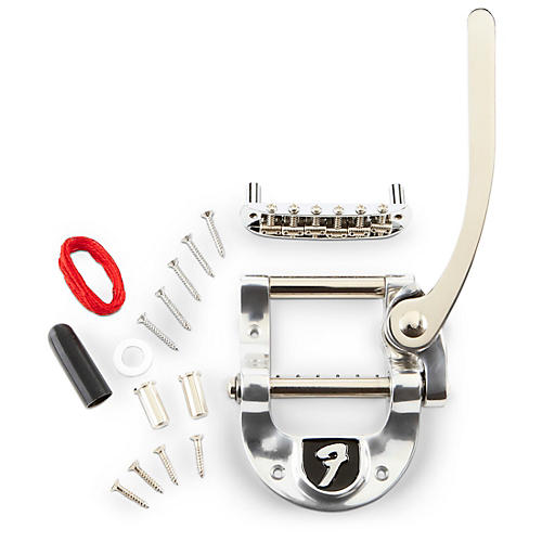 Bigsby B5 Fender Vibrato Kit - Original Fender Logo For Telecaster Guitars Chrome