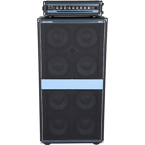 Acoustic B600H and B810 Stack
