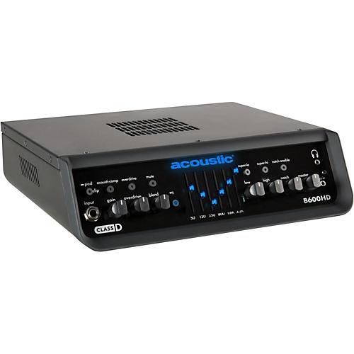 Acoustic B600HD 600W Bass Amp Head