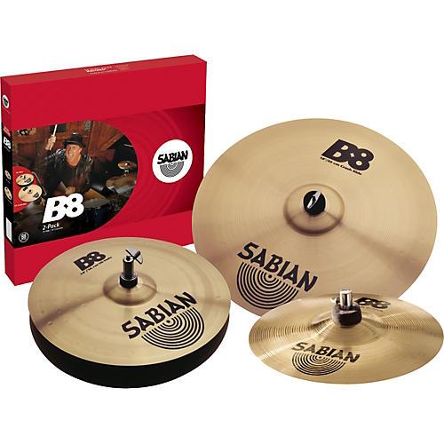 Sabian B8 2-Pack with Free Splash