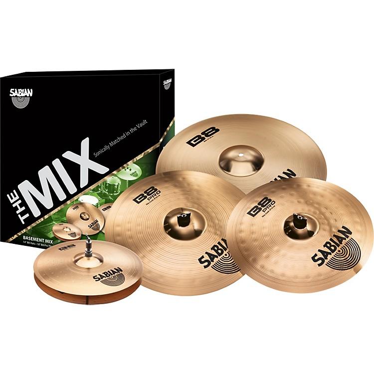 SabianB8/B8PRO Mix Cymbal Pack
