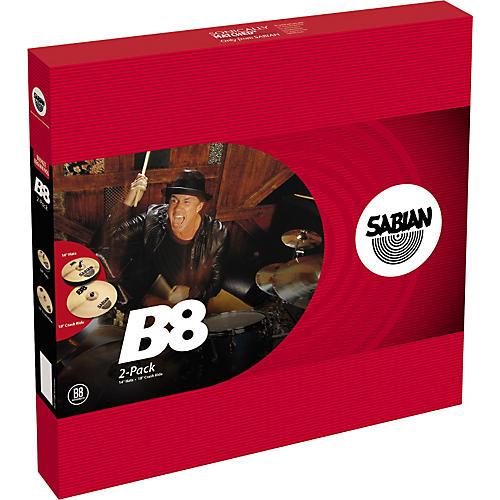 Sabian B8 Cymbal 2-Pack