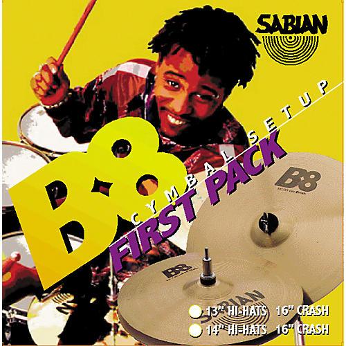 Sabian B8 First Cymbal Pack