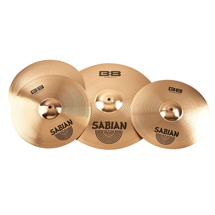 Sabian B8 Performance 2 Pack with Free 14 Inch Crash