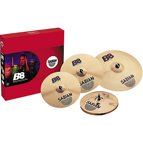 sabian b8 performance cymbal pack with free 18 crash musician 39 s friend