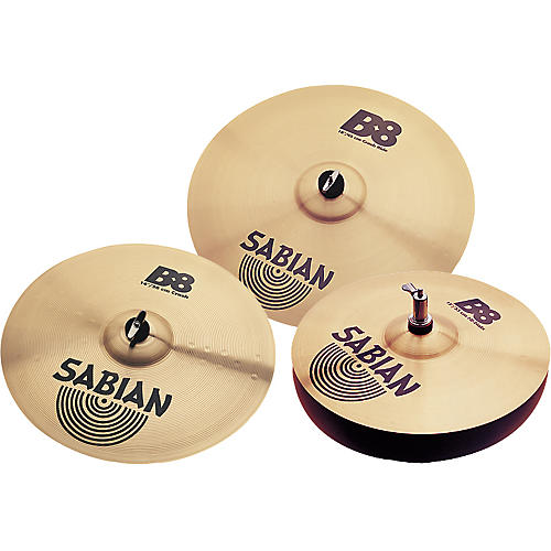 Sabian B8 Performance Cymbal Pack