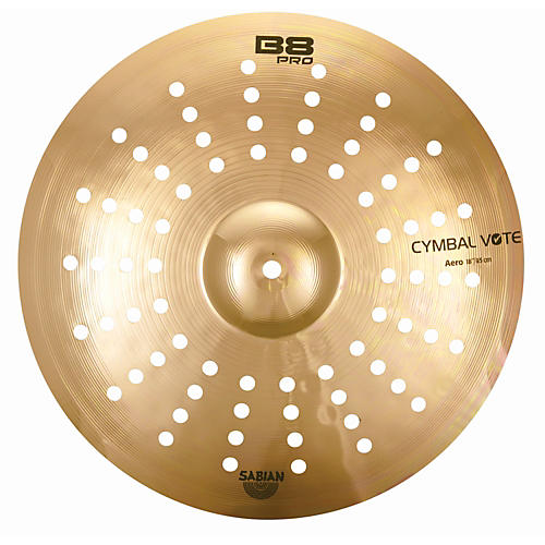 sabian b8 pro aero crash cymbal musician 39 s friend. Black Bedroom Furniture Sets. Home Design Ideas