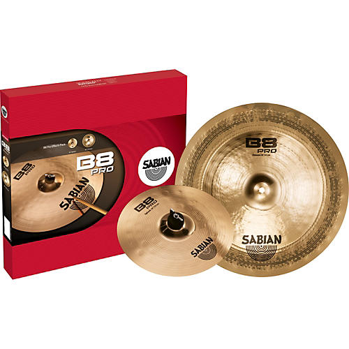 Sabian B8 Pro Effects Pack Brilliant