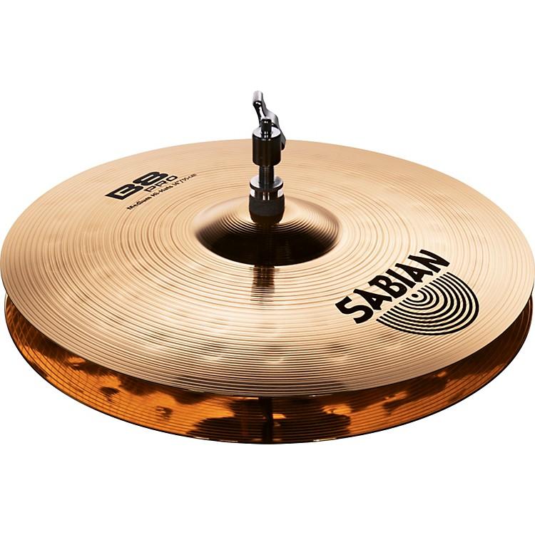 SabianB8 Pro Medium Hi-Hats Brilliant14 inch