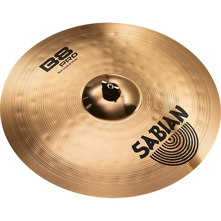 SabianB8 Pro Rock Crash Brilliant18 inch