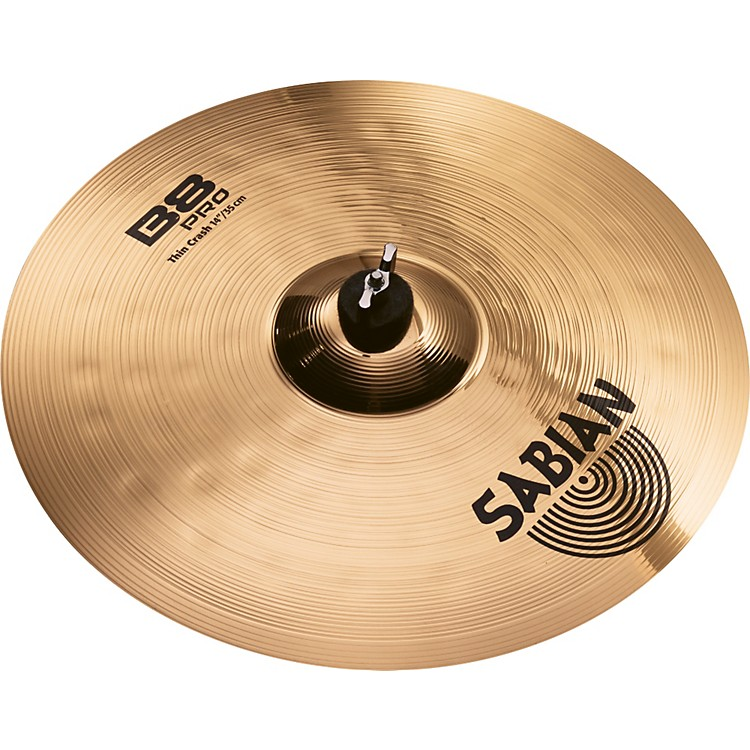 Sabian B8 Pro Thin Crash Brilliant 14 inch