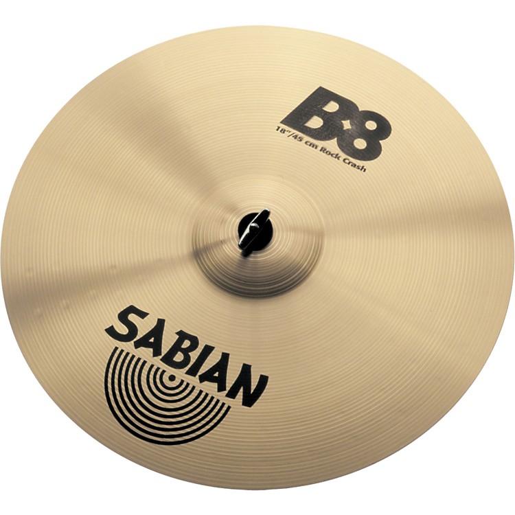 SabianB8 Series Rock Crash Cymbal18 Inches