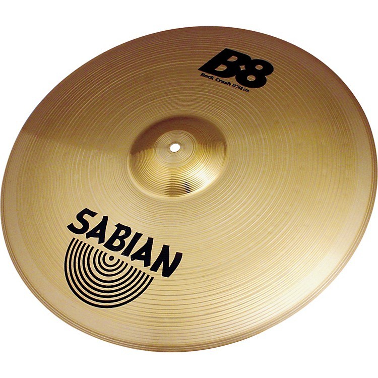 Sabian B8 Series Rock Crash Cymbal 19