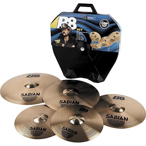 Sabian B8 Series Rock Cymbal Set
