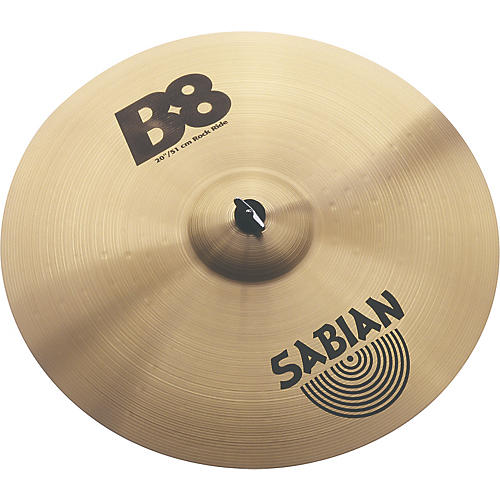 sabian b8 series rock ride cymbal musician 39 s friend. Black Bedroom Furniture Sets. Home Design Ideas