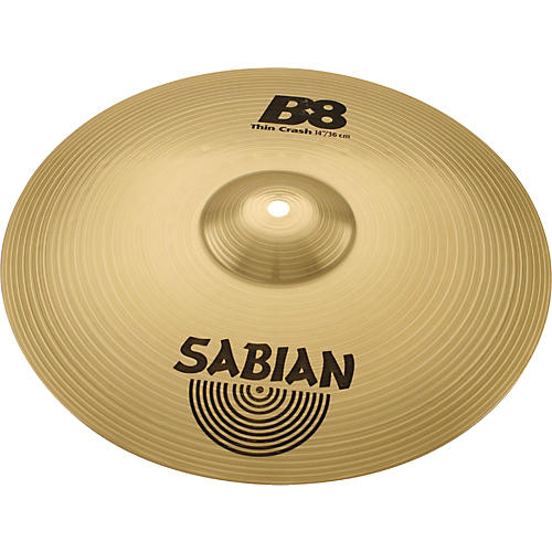sabian b8 series thin crash cymbal musician 39 s friend. Black Bedroom Furniture Sets. Home Design Ideas