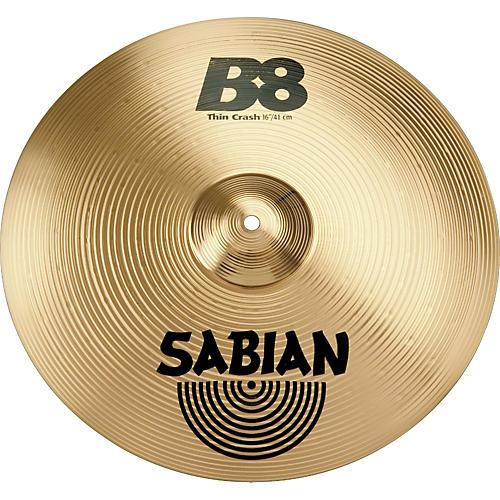 Sabian B8 Series Thin Crash Cymbal